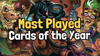 The 10 Most-Played Cards of the Year - Hearthstone | Supported by HSReplay.net