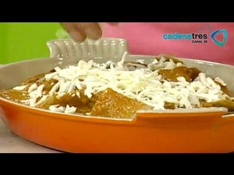 Receta de chilaquiles de aguascalientes recetas de comida - Comida faciles y rapidas ...