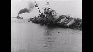Поглощение австрийского броненосца SMS Szent István 1918 фильм о Первой мировой войне