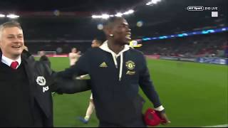 PSG VS MAN UNITED FULL TIME REACTION