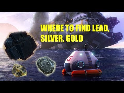 Subnautica Where To Find Lead, Gold, Silver | How To