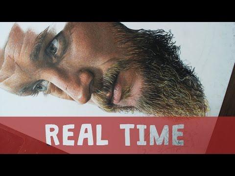 Desenhando barba em tempo real