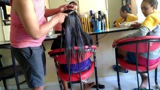 Download Video Hair smooting Cara meratakan dan membuat rambut cepat elastis peresapan step 1 by sihombing salon MP3 3GP MP4