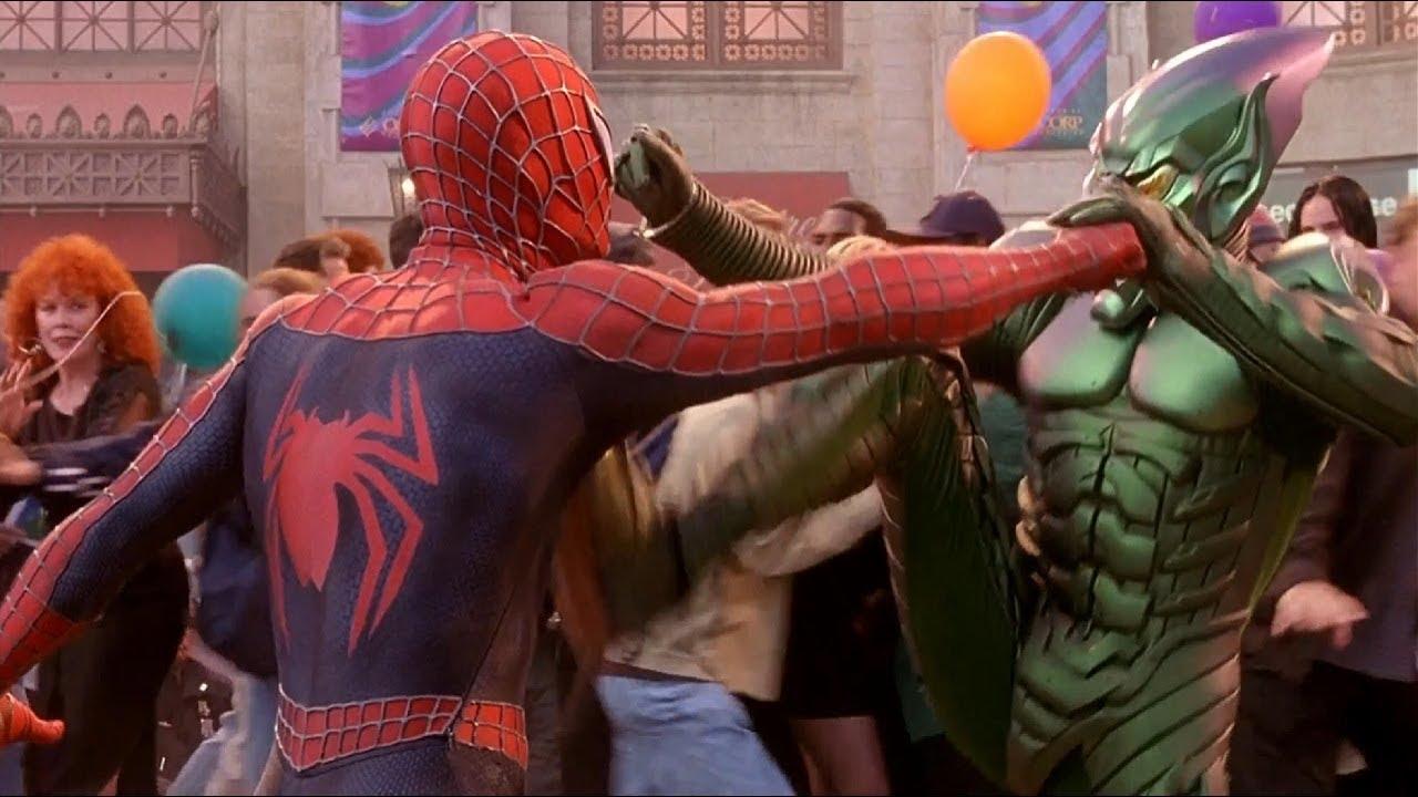foto de Spiderman vs El Duende Verde Español Latino YouTube
