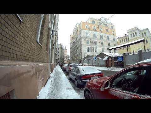 Кузнецкий Мост, далее от Лубянской до Чистопрудного переулками 5 января 2018