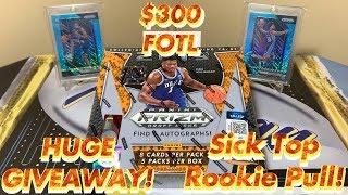 2019-20 Panini Prizm Draft Picks Basketball FOTL Hobby Box Break - Sick Top Rookie Pull! 🔥GIVEAWAY!