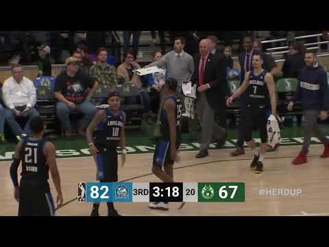Melvin Frazier Jr  (18 points) Highlights vs  Wisconsin Herd - YouTube
