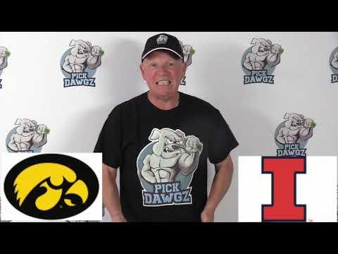 Illinois vs Iowa 3/8/20 Free College Basketball Pick and Prediction CBB Betting Tips