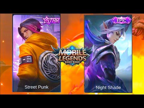 Ling | Night Shade Skin VS Street Punk Skin | Mobile Legends: Bang Bang