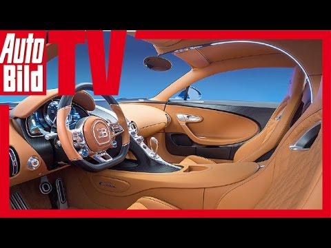Bugatti Chiron (Genf 2016)-  Exklusiv Interview mit Bugatti- Präsident Wolfgang Dürheimer