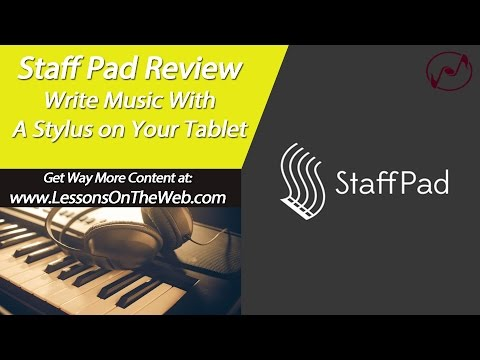 StaffPad Review - Write Music on Your Tablet - On Microsoft Surface Pro 3
