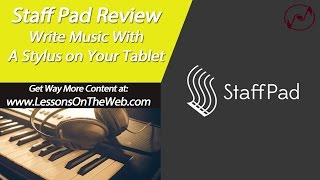 StaffPad Review - Write Music on Your Tablet - On Microsoft Surface Pro 3(Staff Pad Review from LessonsOnTheWeb. Staff Pad is a music notation program from the Windows store for Windows 8.1 devices; mainly the Surface 3, and ..., 2015-10-31T17:00:02.000Z)