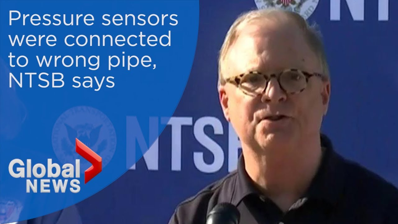 Pressure sensors connected to pipe being taken 'out of service': NTSB