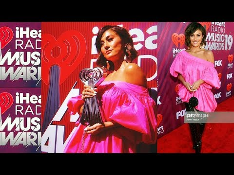 Agnez Mo At 2019 IHeartRadio Music Awards Red Carpet