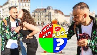 GLÜCKSRAD CHALLENGE VS FRAUEN auf der Strasse - Kuss & Heftige Bestrafungen!!