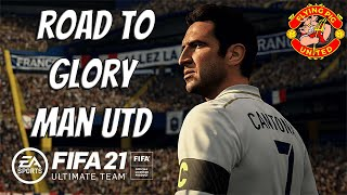 Fifa 21 Ultimate Team Ep 43 Road to Glory Glory Man Utd LIVE STREAM