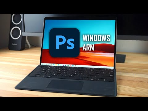 Adobe Photoshop Beta (Windows ARM) on Surface Pro X! – Basic Performance and Usability Test