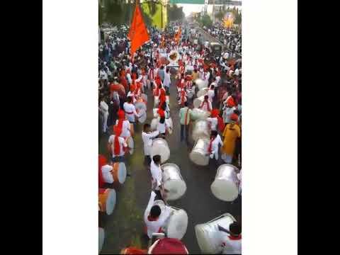 """""""samna"""" Dhol Tasha Pathak Ganeshotsav Miravnuk {Kaka Ganesh Mandal} Latur"""