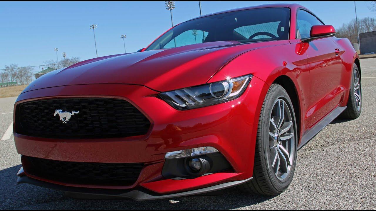 2015 Ford Mustang 2 3l Start Up Exhaust Rev Frame Shot
