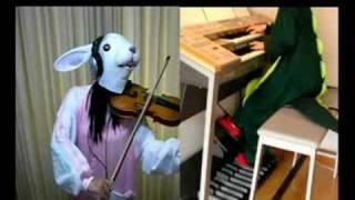 ウサコとmaruでFFXII交響詩「希望」を弾いてみました[reje Mix]FINAL FANTASY XII