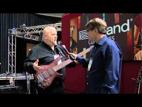 WNAMM 2011 - Roland Cube Bass Amps