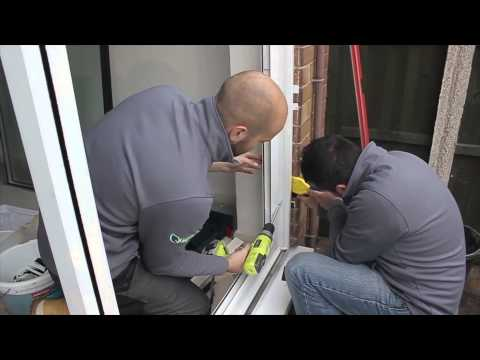 How to install patio doors