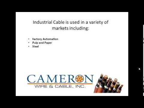 Industrial Cable: We've got Industrial Cables