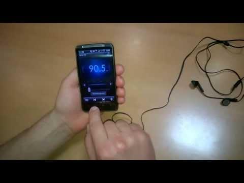 Radio FM W Telefonie HTC