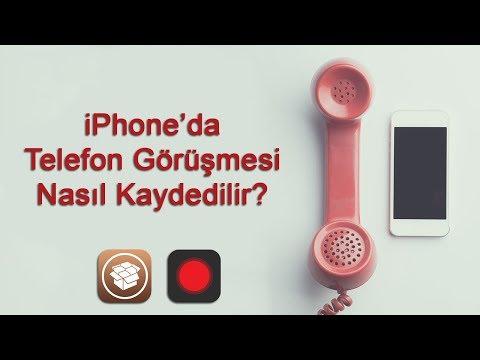 Telefon Görüşmesinin Sesi Nasıl Kayıt Edilir?