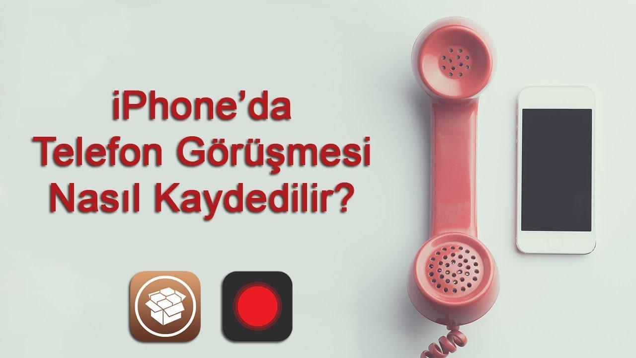 telefon görüşmesi kayıt tweak