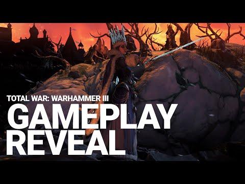 Khorne Vs Kislev Survival Battle Gameplay - Total War: WARHAMMER III | Global Gameplay Reveal Event