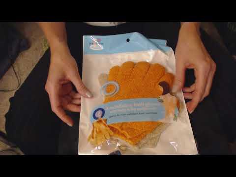 ASMR Request ~ Gentle Plastic Bag Crinkle/Massage (No Talking) (Visual ASMR)