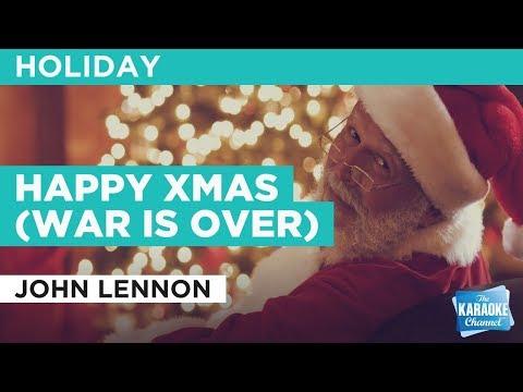 Happy Xmas (War Is Over) in the style of John Lennon | Karaoke with Lyrics