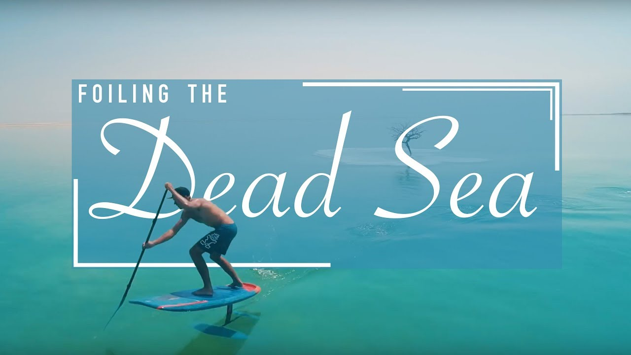 Dead Sea Surfing?  Well That's New...