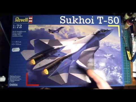 Revell 1/72 Sukhoi T-50 part 1