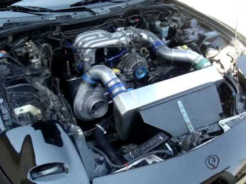 Mazda Rx7 Fd3s 13b Rew Half Bridge Port Single Turbo Youtube