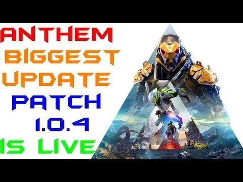 Anthem's biggest update so far! Patch 104!!!