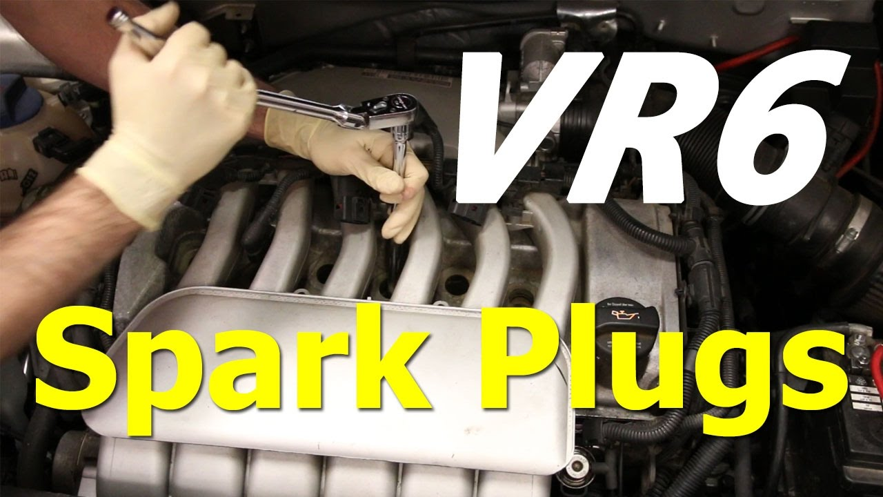vr6 spark plug diy for vw models vr6 spark plug diy for vw models