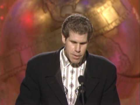 Ron Perlman Wins Best Actor TV Series Drama  Golden Globes 1989