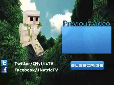 Minecraft outro - free download.
