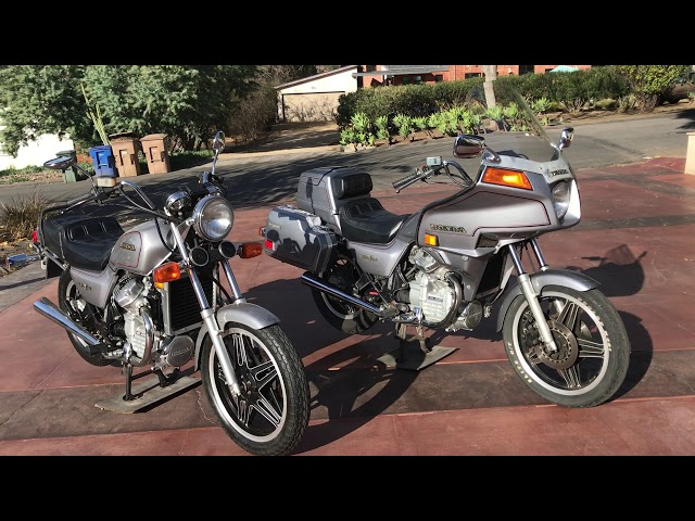 1982 Honda GL500 Silver Wing and Interstate For Sale