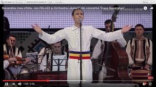 "Basarabia mea sfinta - Ion PALADI si Orchestra Lautarii"" din concertul &quotDorul Basa ..."