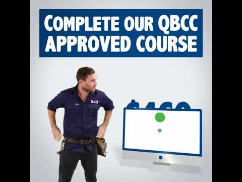 QBCC Approved Managerial Course $100 for a limited time - YouTube