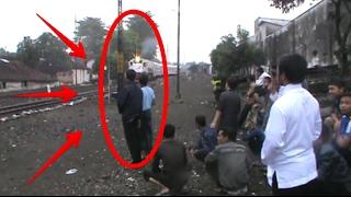 Ini Lho Video Kereta Api Tergokil di Jember