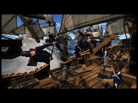 EPIC SEA BATTLE! Napoleonic Naval Combat & Boarding - Holdfast: Nations at War