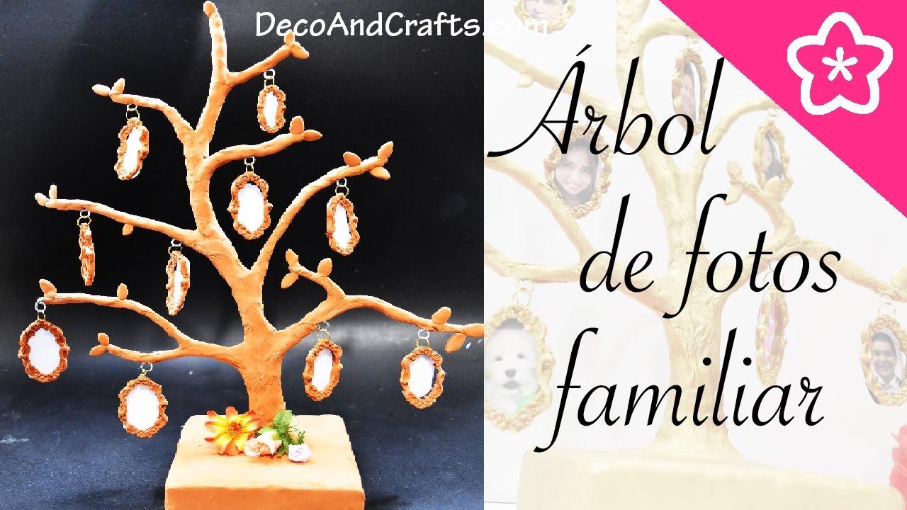 Como Hacer un PORTARETRATO FAMILIAR Arbol Genealogico de FOTOS ...