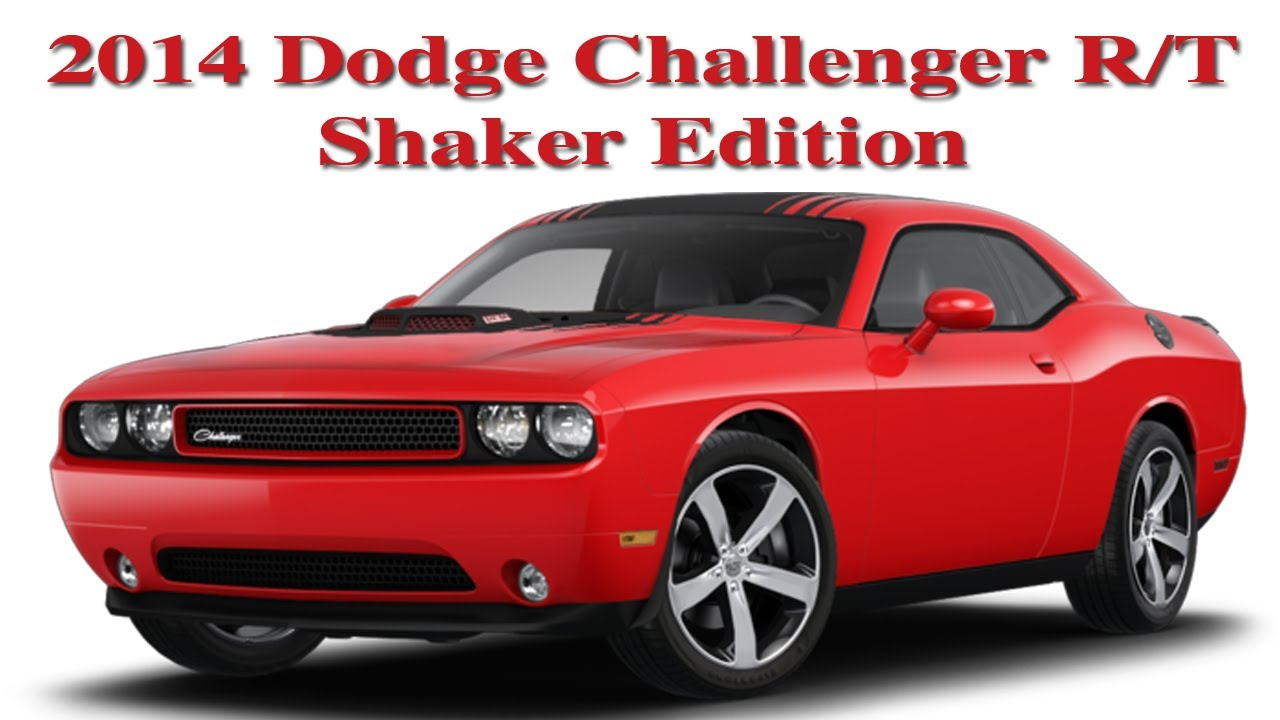 2014 Dodge Challenger RT Shaker Edition My New Car  YouTube