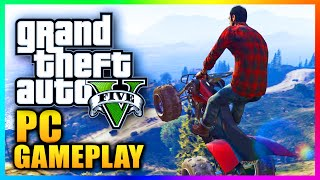 GTA 5 PC GAMEPLAY FAIL - GTA V PC Steam Key Stolen On Stream LIVE! (GTA V PC)