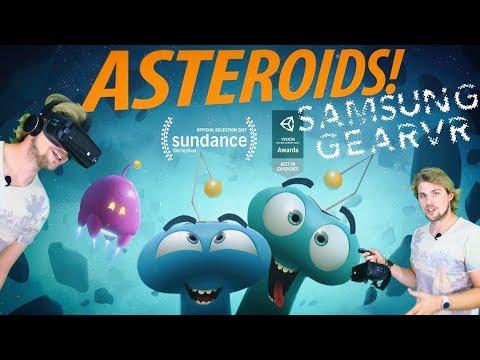 ASTEROIDS! 360° VR Interactive Entertainment! (Samsung GearVR & Note 8)