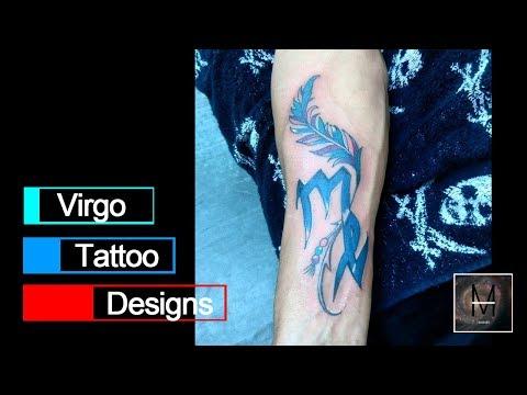 Virgo Tattoo Designs Ideas to Show Your Horoscope